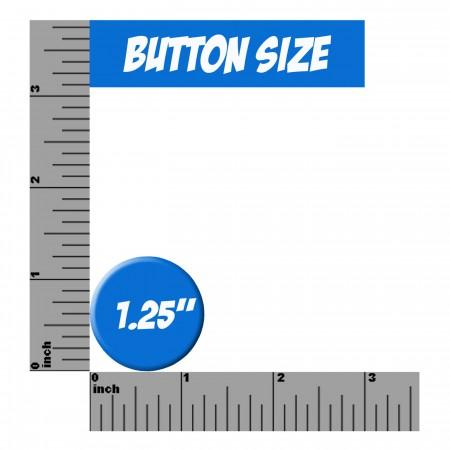 Iron Fist Symbol Galaxy Button