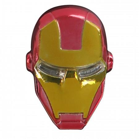 Iron Man Head Colored Lapel Pin
