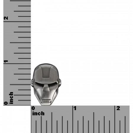Iron Man Head Pewter Lapel Pin