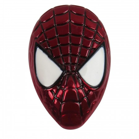 Spider-Man Head Colored Lapel Pin