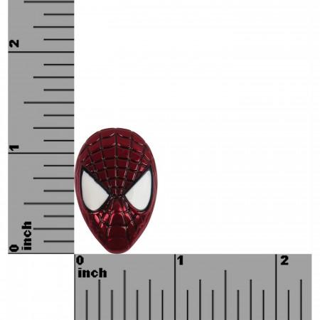Spider-Man Head Colored Lapel Pin