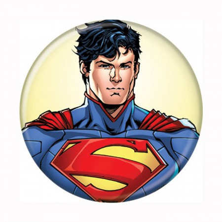 Superman Headshot New 52 Button