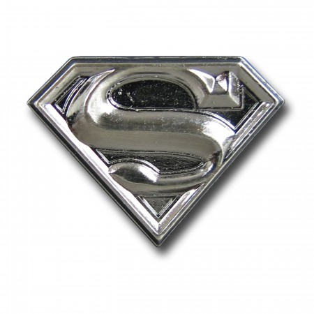 Superman Pewter Lapel Pin