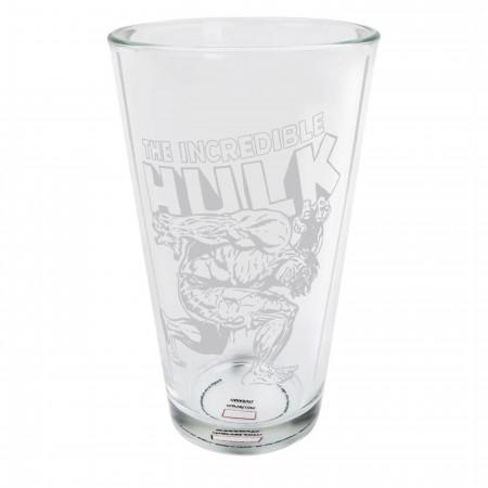 Hulk Heavy Lifting Pint Glass