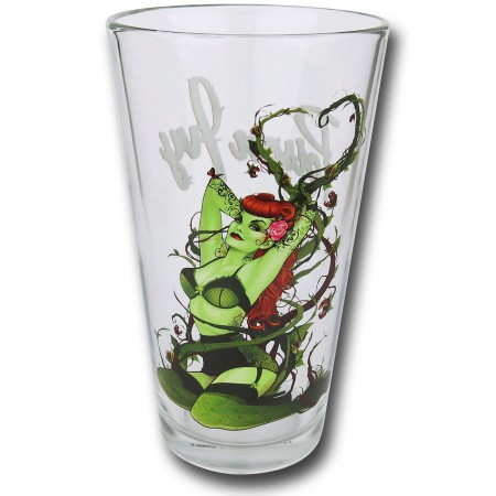 Poison Ivy Bombshells Pint Glass