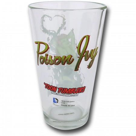 Poison Ivy Bombshells Pint Glass