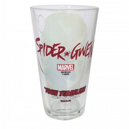 Spider Gwen Pose Pint Glass