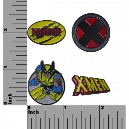 Wolverine & The X-Men Lapel Pin Set of 4