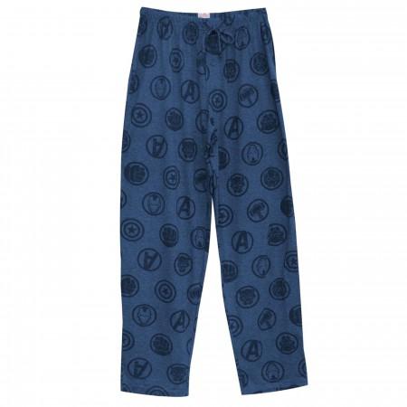 Avengers Icons Men's Pajama Pants