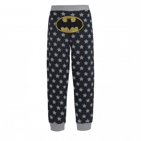 Batgirl Retro Girl's Thermal Pajama Set