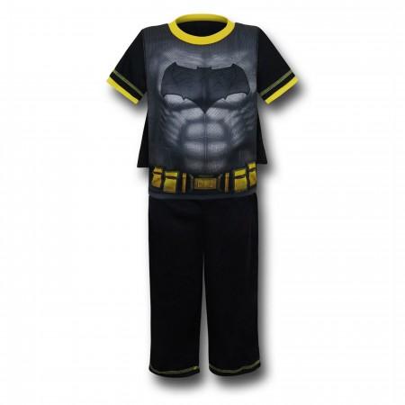 Batman Vs Superman Kids Batman Caped Pajama Set
