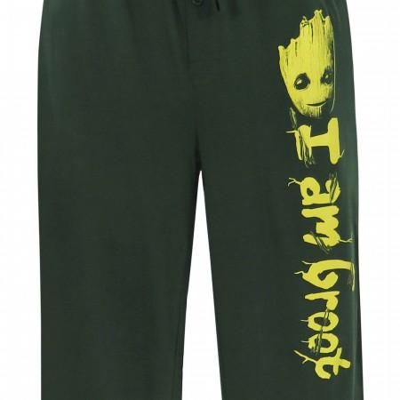 GOTG I Am Groot Men's Pajama Pants