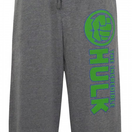 Incredible Hulk Fist Men's Pajama Pants