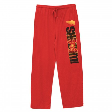 Shazam Logo Burst Unisex Pajama Pants