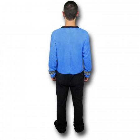 Star Trek Blue Science Union Suit