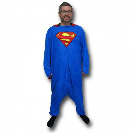 Superman Caped Union Suit