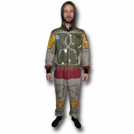 Star Wars Boba Fett Costume Adult Union Suit