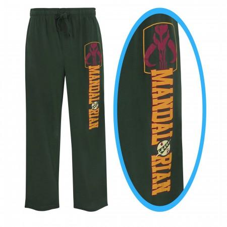Star Wars Boba Fett Mandalorian Men's Pajama Pants