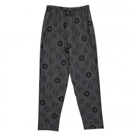 Darth Vader Empire Crest Men's Pajama Pants