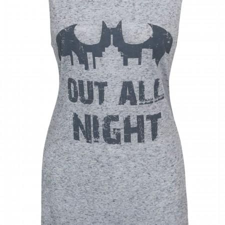 Batman Out All Night Women's Sleep Tank