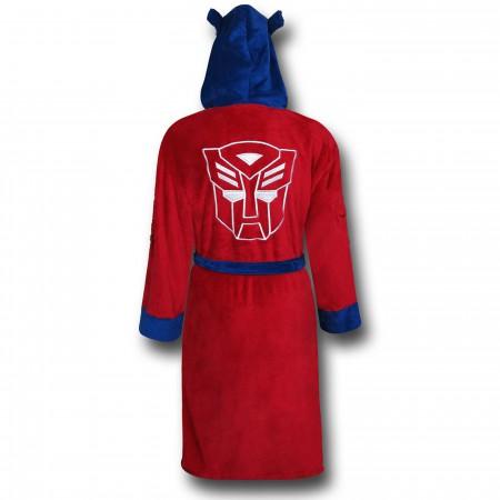 Transformers Optimus Prime Robe