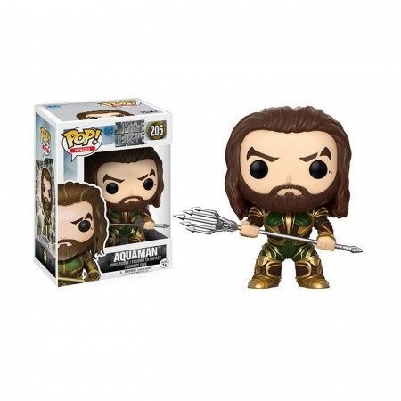 Aquaman Justice League Movie Funko Pop Vinyl Figure