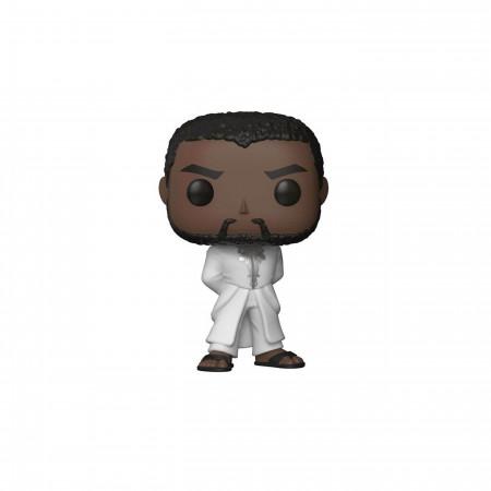 Black Panther in White Robe Funko Pop Bobble Head