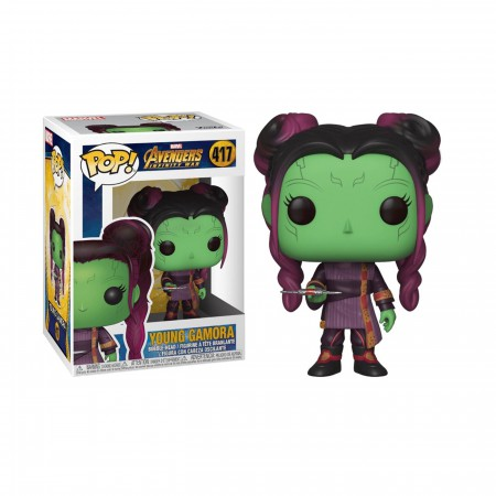 Avengers Infinity War Young Gamora with Dagger Funko Pop Bobble Head