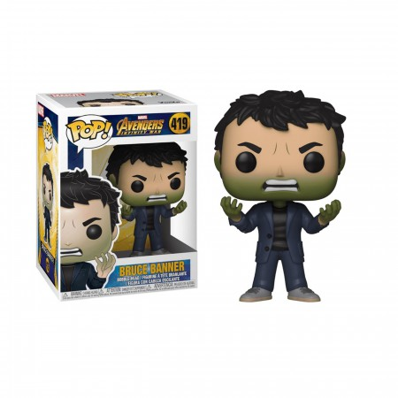Avengers Infinity War Bruce Banner Funko Pop Bobble Head