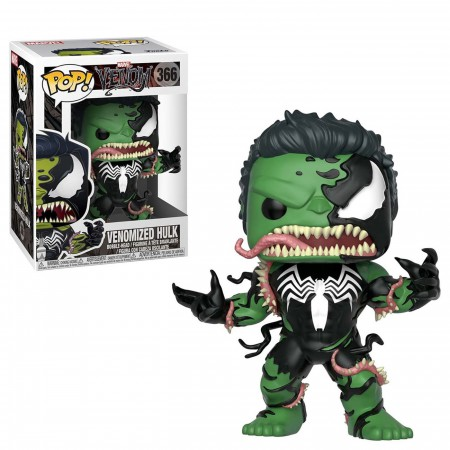 Venom Hulk Funko Pop Bobble Head