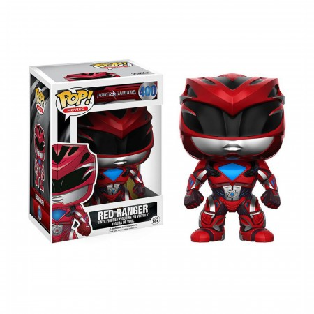 Power Rangers Movie Red Ranger Funko Pop Vinyl Figure
