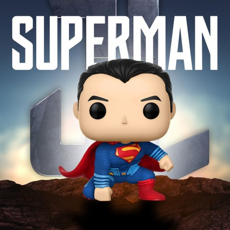 Superman Justice League Movie Funko Pop Vinyl Figure
