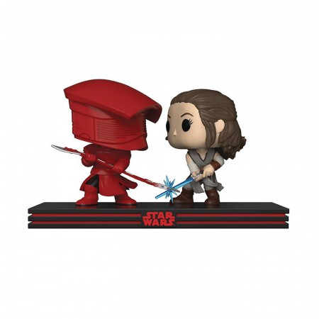 Rey & Praetorian Guard Funko Pop Movie Moment