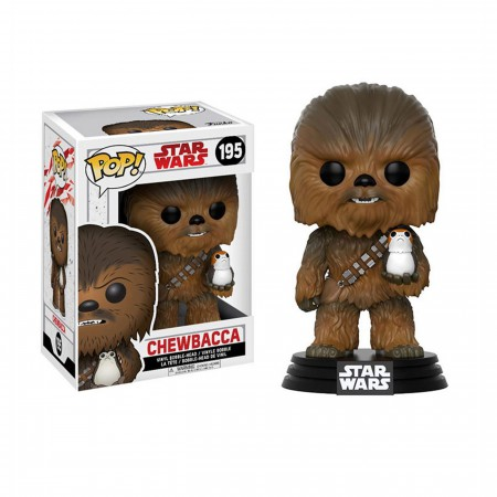 Star Wars Last Jedi Chewbacca Funko Pop Bobble Head