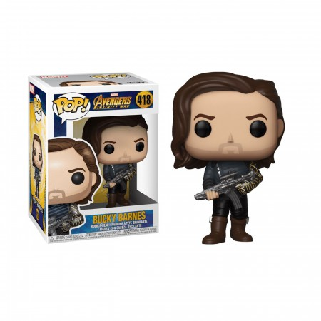 Avengers Infinity War Bucky Barnes Funko Pop Bobble Head