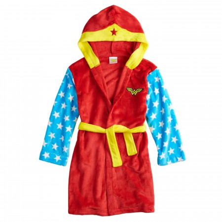 Wonder Woman Costume Girls Robe