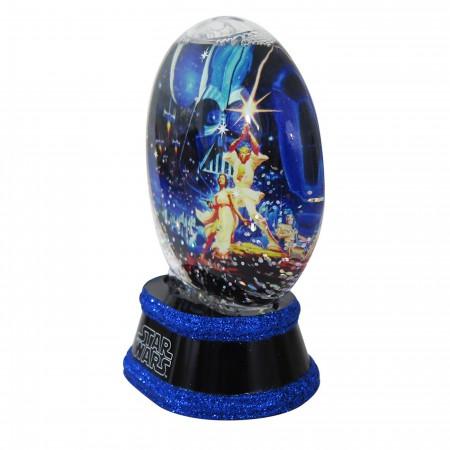 Star Wars New Hope Snow Globe