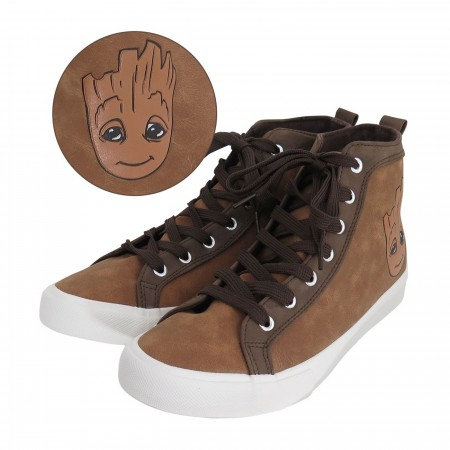 GOTG Baby Groot Men's High Top Sneakers