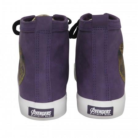 Thanos Infinity Gauntlet Men's High Top Sneakers