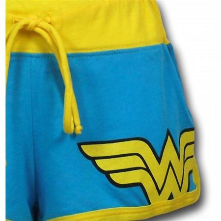 Wonder Woman Women's Short Shorts