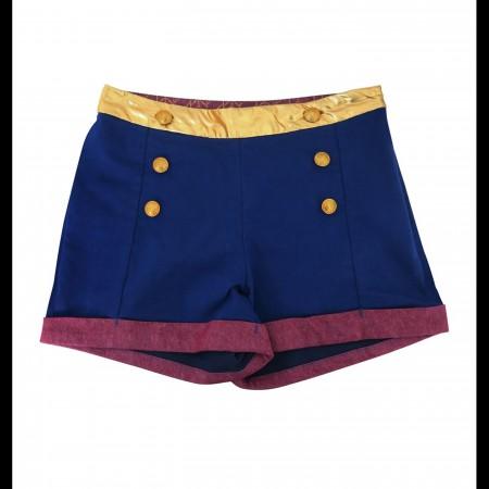 Wonder Woman High Waisted Costume Shorts