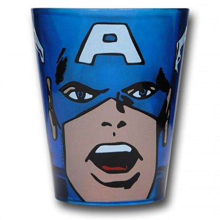 Marvel Set of Four Colored Shot Glasses