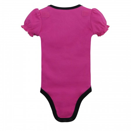 Batgirl Little Caped Crusader Caped Snapsuit