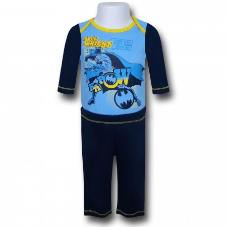 Batman Infant Snapsuit and Pants Set