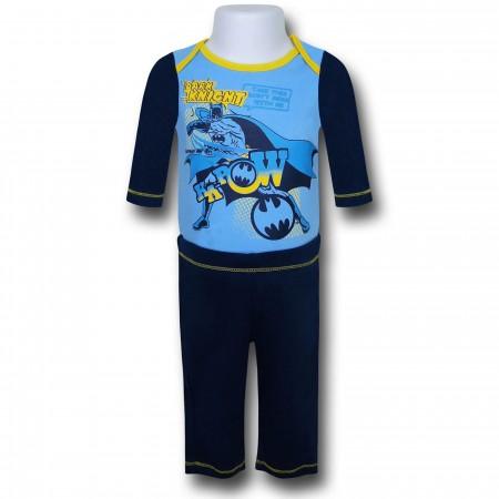 Batman Infant Snapsuit and Pants Set