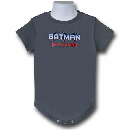 Batman In Training Grey Infant Snapsuit