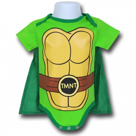 TMNT Caped Costume Infant Snapsuit}