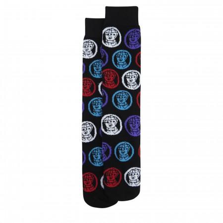 Avengers Infinity War Photoreal Sock 2-Pack