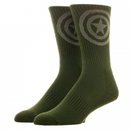 Captain America Salute To Service Athletic Crew Socks