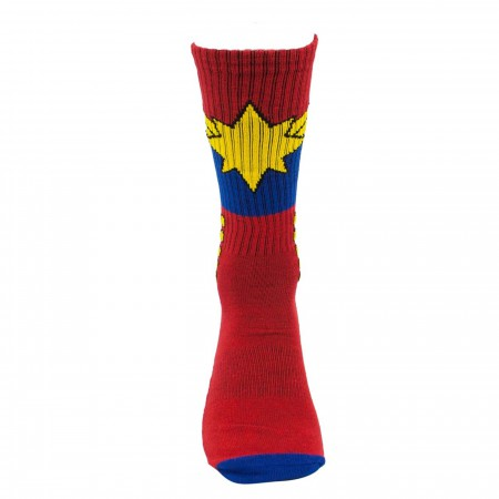 Captain Marvel Avenger Activated Athletic Socks